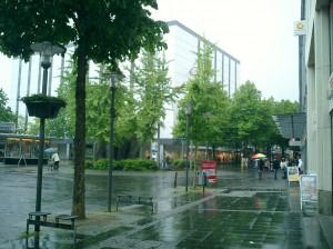 auch wieder Regen