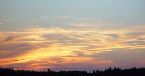 Haalockenwolken (Cirrus)