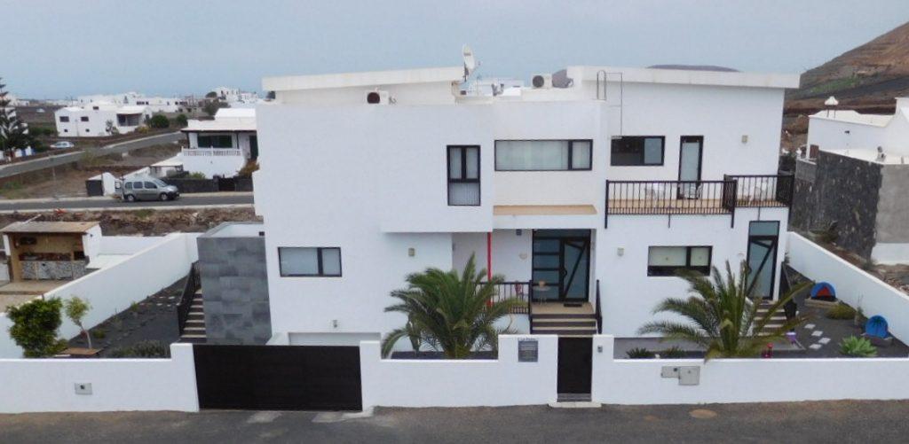 Hausfront Lanzarote